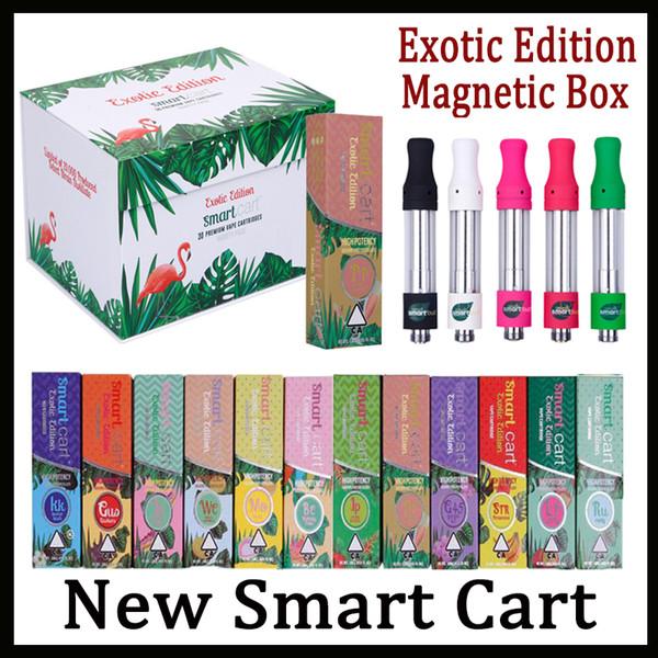 El más nuevo Smart Smartbud Cart con 22 sabores Vape Cartridge 1.0ml Ceramic Coil 510 Thick Oil SmartCarts Vapor Vs Dank Vapes Kingpen Cartuchos