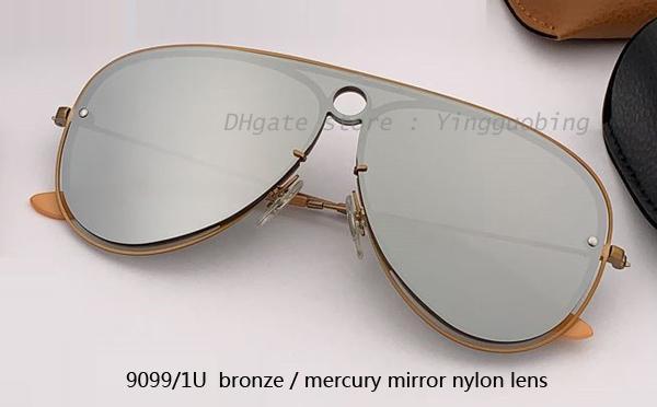 Lente a specchio 9099 / 1U bronzo / mercurio