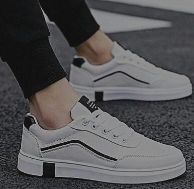 Sapatos de pano respirável esporte lazer, sapatos de lona de linho à prova de odor, sapatos de maré branca pequena, tênis e tênis 348311