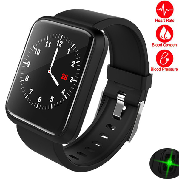 Smart Watch Men Women Fitness Heart Rate Monitor Pedometer Bluetooth Large Screen Touch Intelligent Sport Watch For Running Man