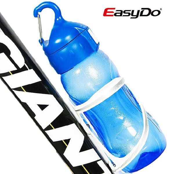 700 ML Ciclismo Bici Bottiglia d'acqua Bicicletta Bollitore portatile Bottiglia d'acqua Plastica Sport all'aria aperta Mountain Bike Drinkware