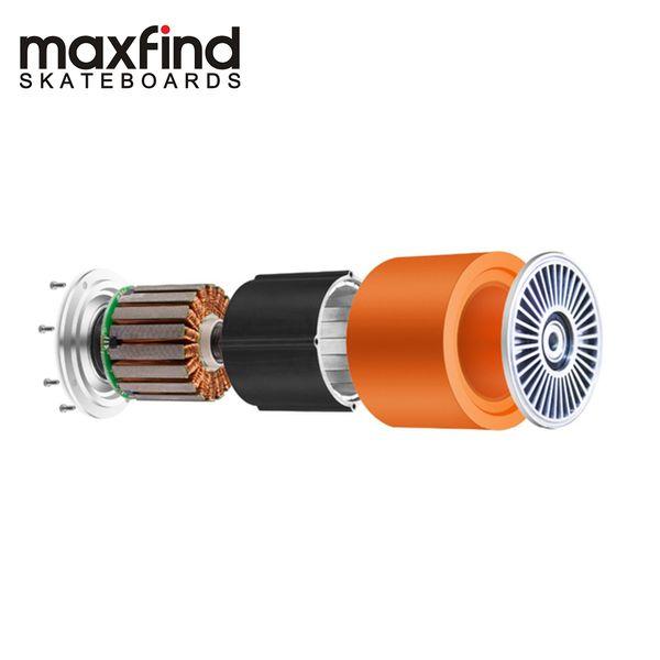 Maxfind 70mm 90mm électrique Planche à roulettes du moteur 500W Highspeed entraînement brushless Hub moteur, auto-équilibrage intelligente de moteur pour la roue