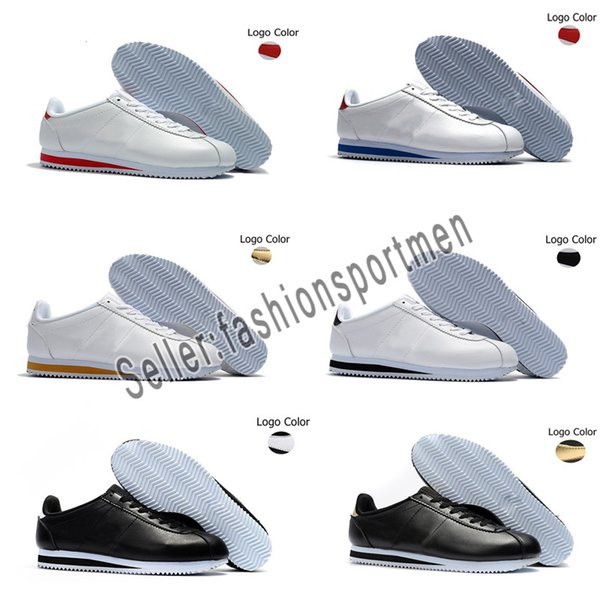 2019 Best new Cortez shoes mens womens casual shoes sneakers cheap athletic leather original cortez ultra moire walking shoes