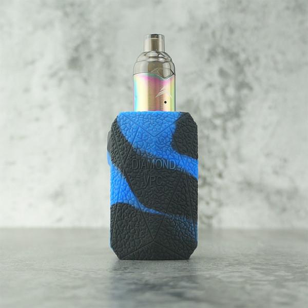 черный + синий