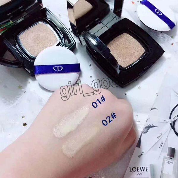 Newest CPB Beaute Cushion CC Cream Best Cover Concealer 01 02 color Face Powder Foundation Cushion CC Cream 18g