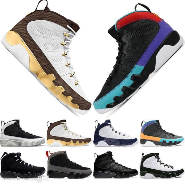 Haute Qualité 9 9s Dream It Do It It Mop Melo Chaussures de basket-ball pour hommes La Og Space Jam Hommes Race 2010 Sortie Sports Sneakers Designer Us 7-13