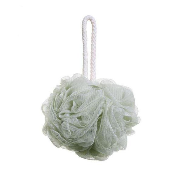 hot sale Bath Flower shower ball Super soft Bubble Bath Ball 4 Colors Universal for summer shower