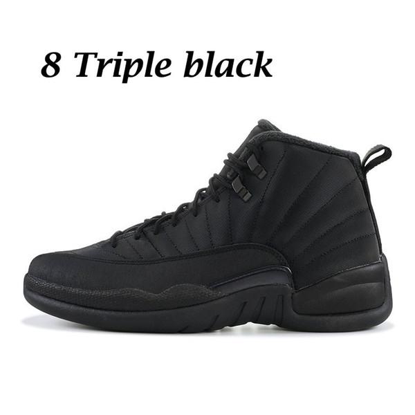 8 triple noir