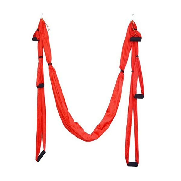 New Arrival Parachute Fabric Swing Inversion Therapy Anti-gravity Aerial Yoga Hammock 8 Colors for Choice