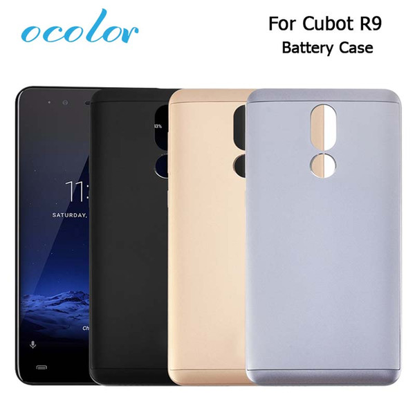 mobil ocolor Cubot R9 Battery Case Colorful Bateria Back Case 5.0 Inch Cover Replacement For Cubot R9 Mobile Phone Cover
