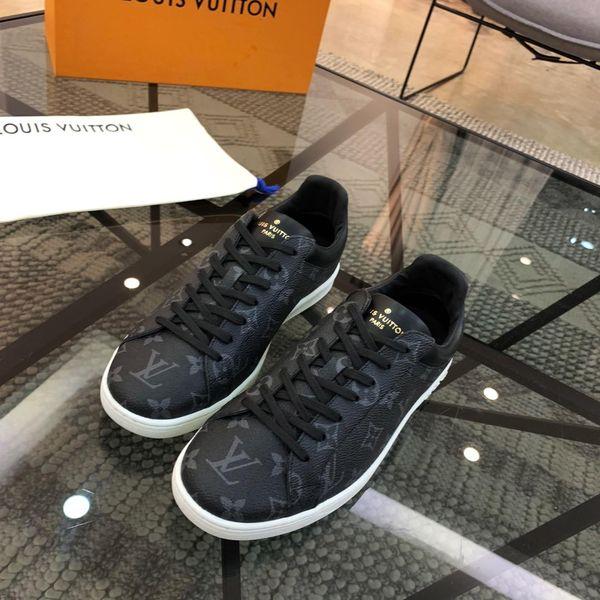 2019T nouvelle dentelle de luxe chaussures de sport pour hommes occasionnels en plein air chaussures de sport de mode chaussures pour hommes sauvages boîte d'origine facture emballage