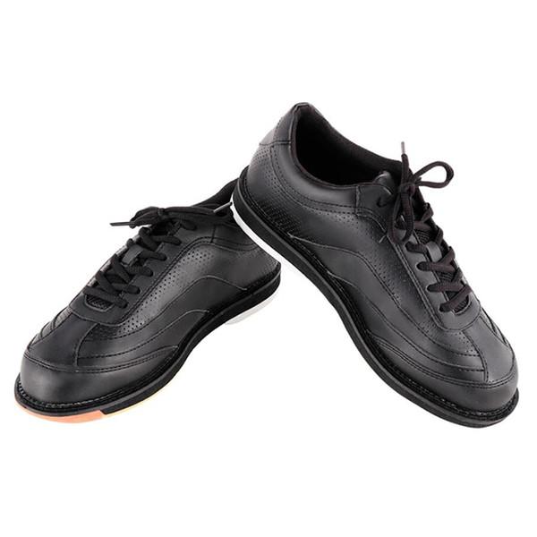 Unisex zapatos de bolos profesionales zapatos deportivos al aire libre antideslizantes deportes de bolos transpirables