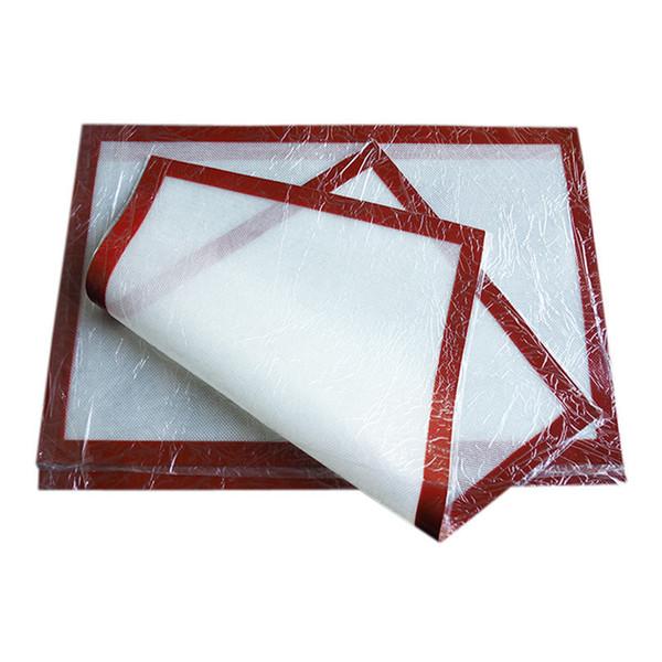 24 * 16 дюймов (60x40 см) Антипригарный противень Силиконовые формы для выпечки Большой матовый сахар художественный лист Приготовление матов для выпечки Placemat