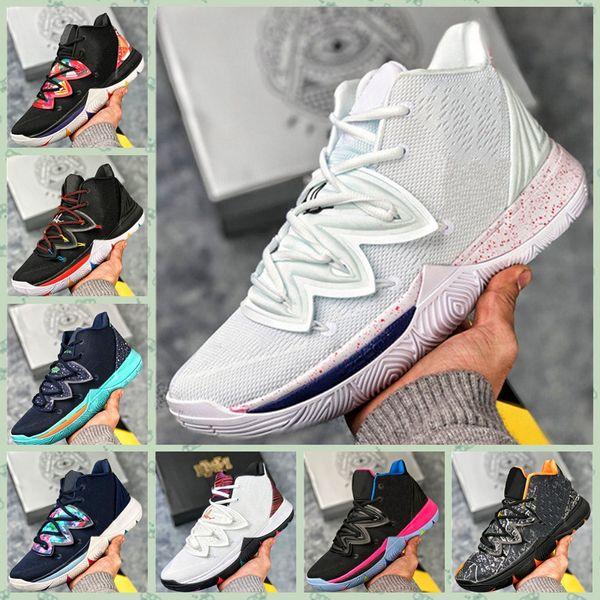 5 Männer Star Heiße 5 S Frauen Jugend Kyrie Schuhe 5 Jungen V Irving Kinder All Zoom Großhandel Basketball Kyrie Nike Mädchen Five Sporttraining TF1lKJc