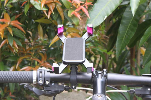 JEREFISH Accessoires De Vélo Guidon Clip De Montage Support Mobile Téléphone Support De Vélo Stand pour iPhone 5 5s 6 6s plus Samsung Case