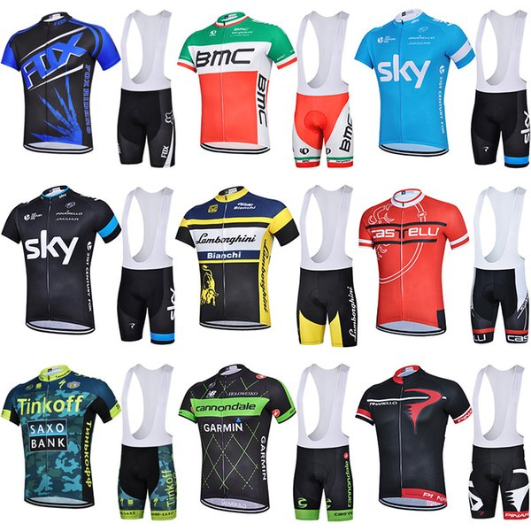 Sky summer cycling suit short sleeve men and women ring road mountain bike bicycle bike clothes dynamic