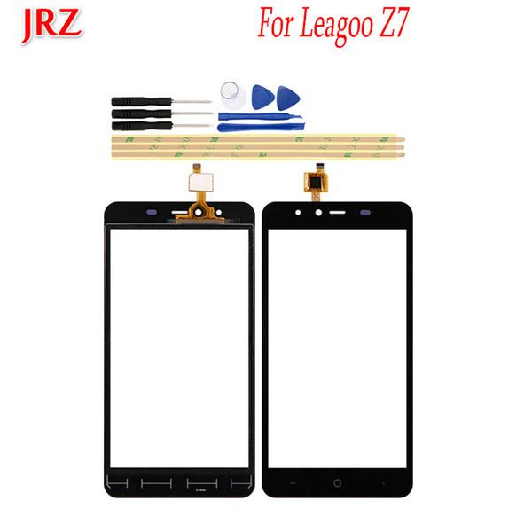 5.0 polegada Lente de Vidro Da Tela de Toque Do Telefone Da Frente Para Leagoo Z7 Touch Panel Sensor de Substituição Touchscreen Digitador Touchpad