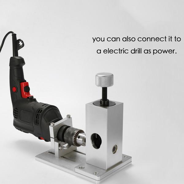 Máquina de desmontaje de alambre de desecho Cable de cobre Separador de metal Reciclaje de metal Herramienta de desmontaje con soporte de taladro eléctrico