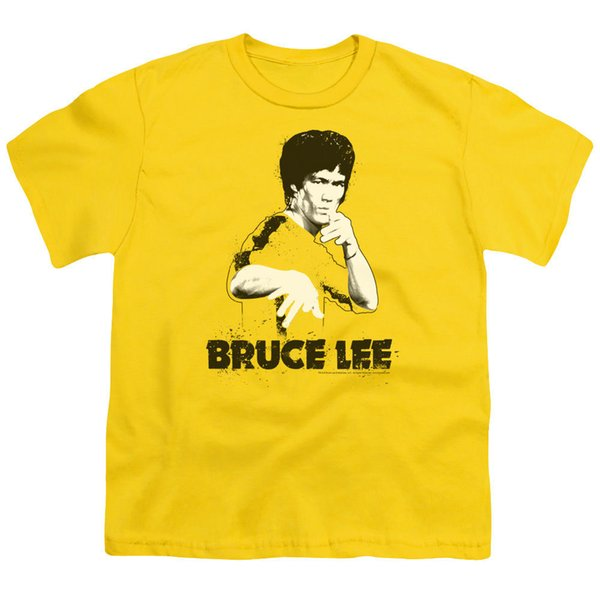 Bruce Lee SUIT SPLATTER PAINT Picture Fight Pose BOYS & GIRLS T-Shirt S-XLMen Women Unisex Fashion tshirt Free Shipping