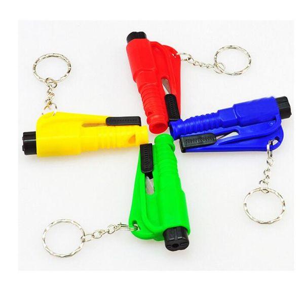 3 in 1 emergency mini afety hammer auto car window gla breaker eat belt cutter re cue hammer car life aving e cape tool