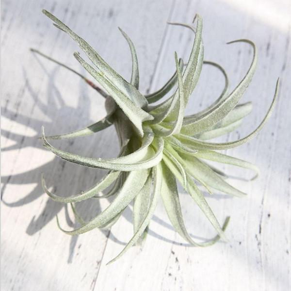 Piña Artificial Hierba Plantas de Aire Flores Falsas como Hogar Decoración de Pared Flores Decorativas Hierba Decoración Para El Hogar