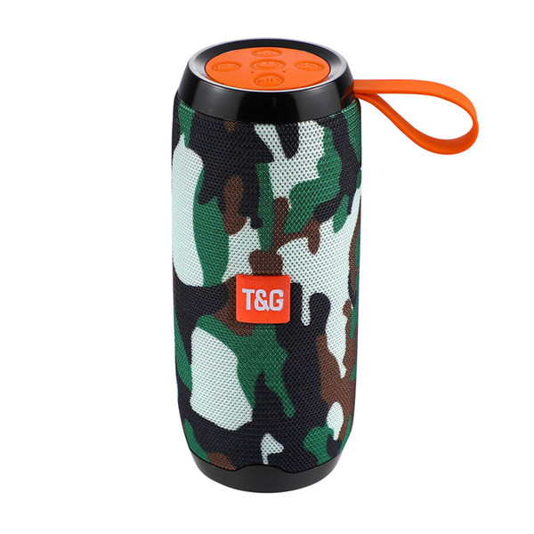 2019 Hot sale TG106 Bluetooth speaker explodes trade electronic products water cup creative square dance outdoor receipt fabric audio