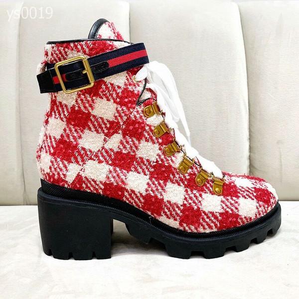 Estilo britânico de lazer e Autumn Martin botas Mulheres Winter moda Mid-calcanhar Confortável Curto Botas Factory Direct Vendas