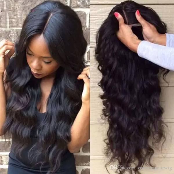 Charming 1b# Natural Black Long Curly Wavy lace Front Wigs with baby hair Heat Resistant Glueless Synthetic Lace Front Wigs for Black Women