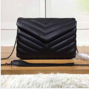 kadın lüks kapaklı çanta, tasarımcı kadının çapraz çanta, lüks çanta, zincir çanta kapaklı çanta postacı çantası, boyutu: 24 * 17 * 9cm iyi fiyat