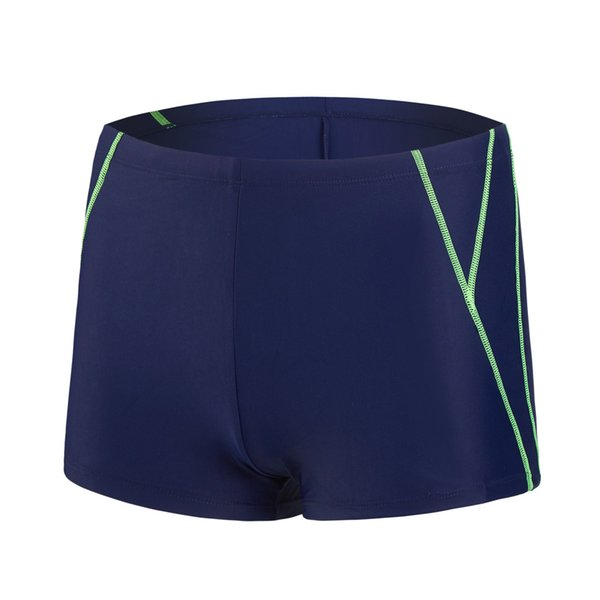 Elastic Stitching Sports Swimming Trunks Quick-Drying Swimwear Fashion Sports Men Swimwear Casual Boxer Shorts Kompielowki #YL1