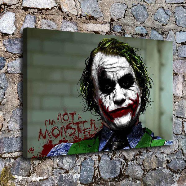 Batman Joker, 1 Stück Home Decor HD gedruckt moderne Kunst Malerei auf Leinwand (ungerahmt / gerahmt)