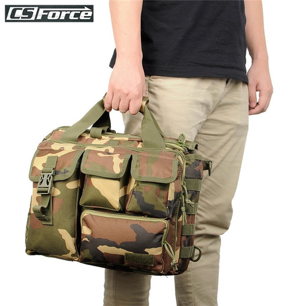 Tactical Molle Laptop Bag Handbag Shoulder Bags Camera Military Outdoor Sport Men Messenger Bag for Hiking Army Bags Briefcase #288288