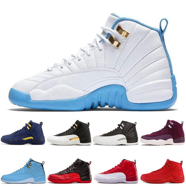 AirRetro12 12s Men Shoe DOERNBECHER Reverse Basketball Shoes Taxi Game Royal French Blue UNC Mens Trainers Outdoor Sports Sneaker