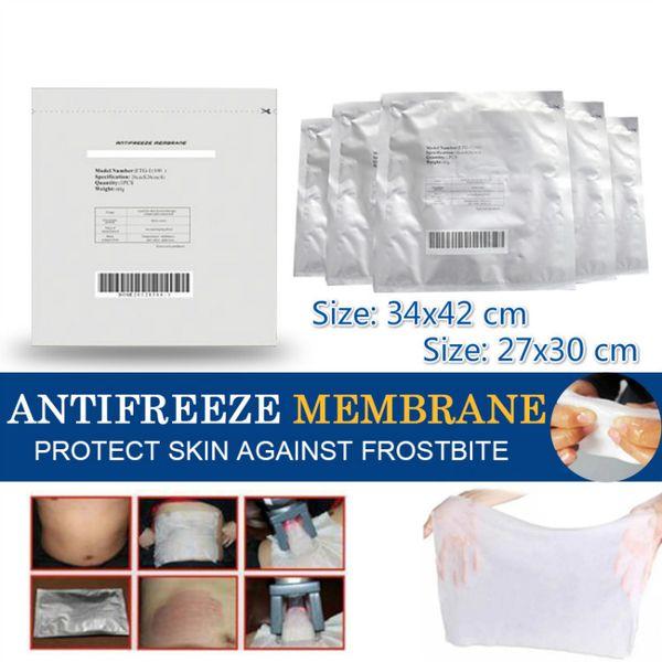 best selling Antifreeze Membrane 12*12CM 28*28CM 27*30CM 34*42CM Antifreezing membrane Anti-freezing Membrane pad for cryo therapy no frostbite