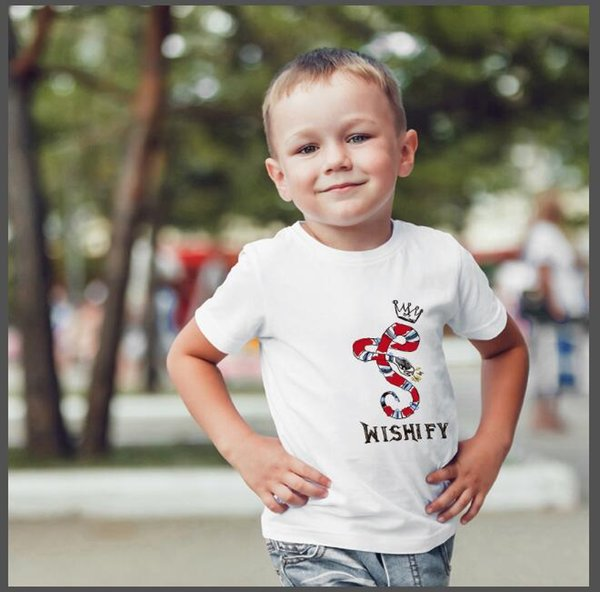 fashion children's wear polo shirt t-shirt children O-neck short-sleeved T-shirt boy clothing brand solid color girls classic cotton