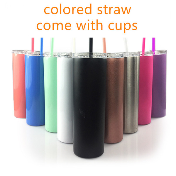 20oz tainle teel kinny tumbler in ulated coffee cup with lid and traw wine tumbler for cold drink