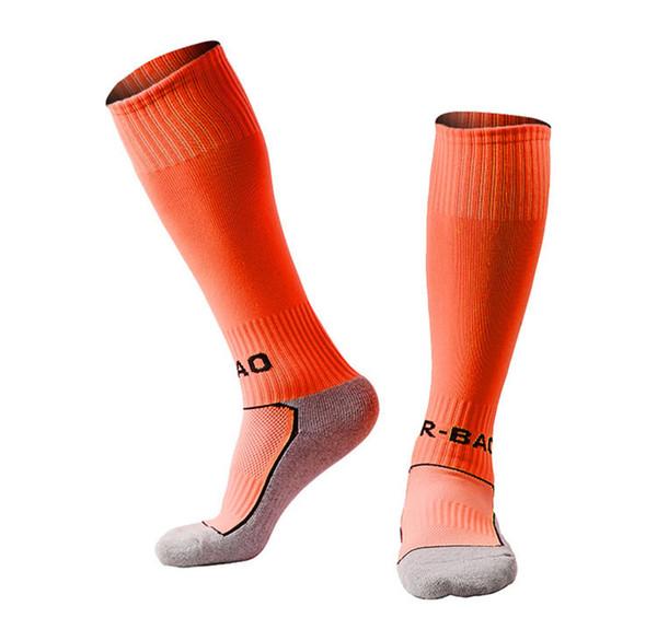 Newest Football Socks Boys Kids Sport Soccer Socks Breathable Child Towel Bottom Durable Long Football Stocking 10 Styles G496Q