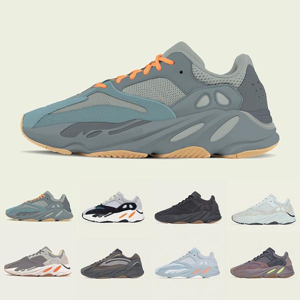 Adidas yeezy 700 shoes Lüks erkekler kadınlar için 700 Dalga Koşucu koşu ayakkabıları tasarımcı mens Statik 3 M refletive Leylak Çok Katı Gri erkek eğitmenler spor Sneakers