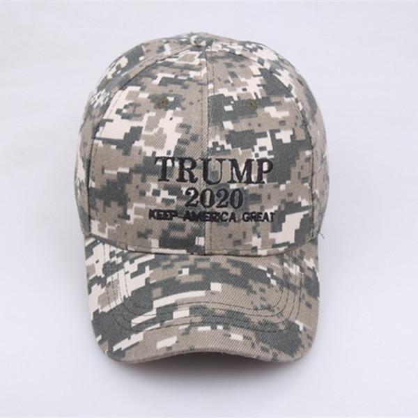 dfd62b76b1e5c New Arrival KEEP AMERICA GREAT Camouflage Baseball Cap Embroidery Trump  2020 Snapback Hats Unisex Dad Cap LE298