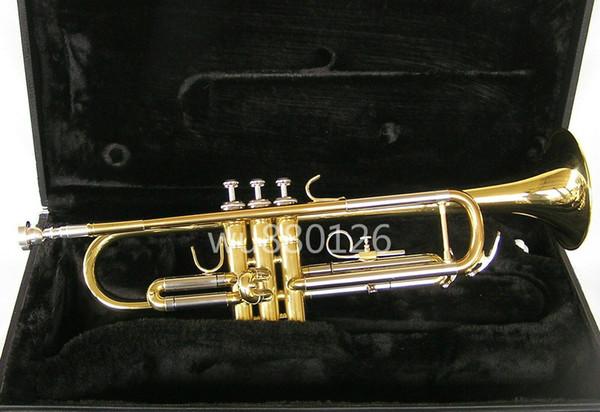 JUPITER JTR700 Латунь Bb Tune Новое Прибытие Труба Золотой Лак Музыкальный Инструмент Высокого Качества с Случае Мундштук Бесплатная Доставка