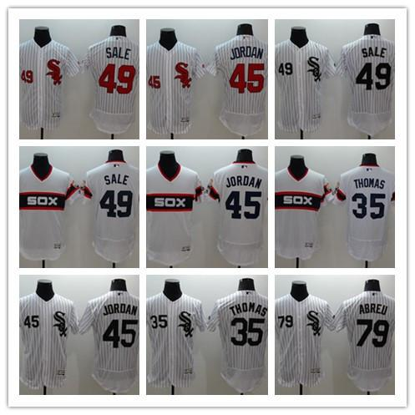 Cheap Men's Chicago White Sox baseball Michael 45 Todd Frazier 21# Majestic 35 Frank Thomas Black Alternate Cool Base Player Jersey