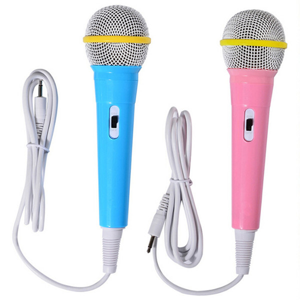 Kids Wired Microphone Musical Instrument Singing MIC Children Funny Gift Music Toy Microphone Toy Boy Girl Christmas Gift