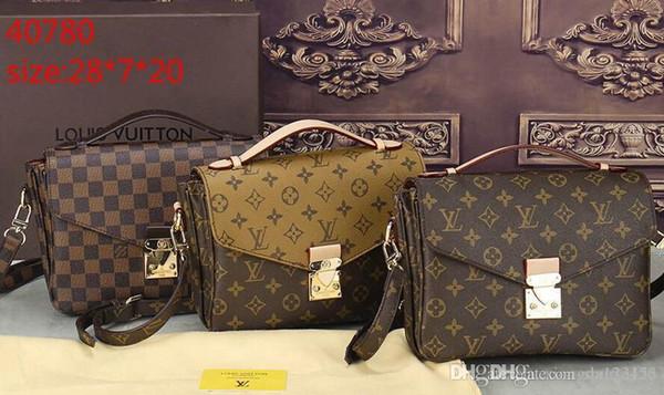 Melhor preço de alta qualidade mulheres senhoras bolsa tote ombro mochila bolsa carteira AAA40780.