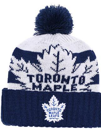 DORONTO MAPLE LEAFS Ice Hockey Knit Beanies Embroidery Adjustable Hat Embroidered Snapback Caps Orange White Black Stitched Hat One Size 02