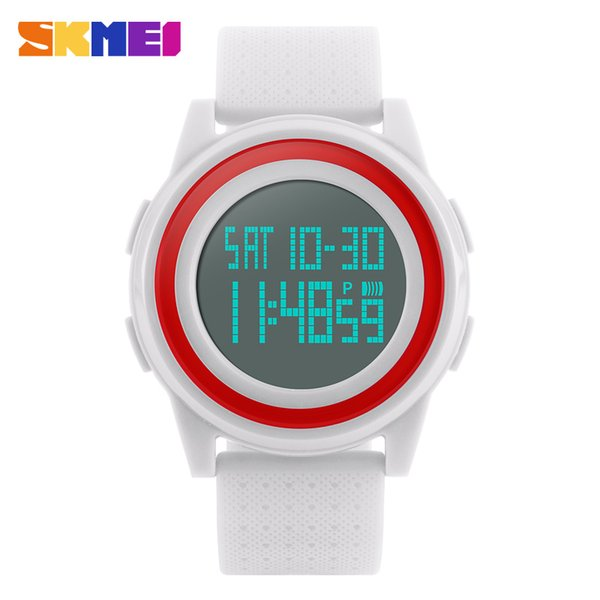 SKMEI Lady Led Watch Clock Woman Outdoor Digital Sports Watches Women Fashion Casual Wristwatches Hand Wrist Hour Gift 1206