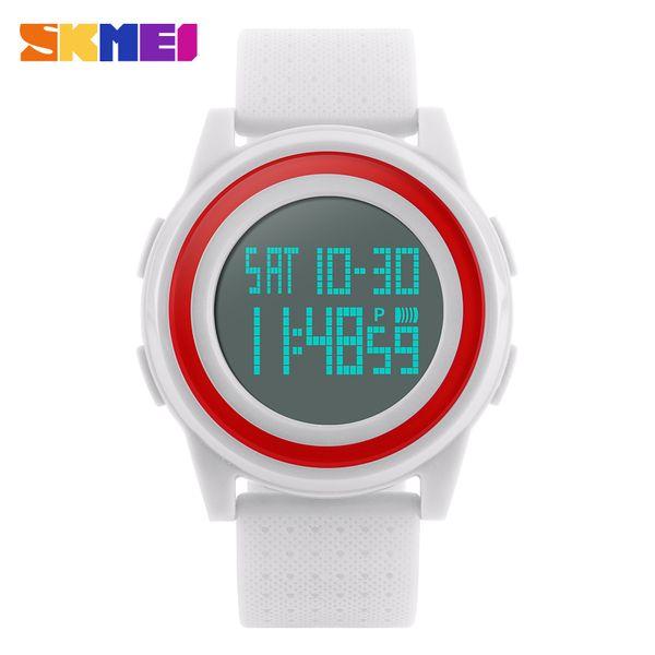 SKMEI Señora reloj llevado Mujer del reloj digital al aire libre Deportes mujeres de los relojes de pulsera Moda Casual muñeca de la mano del regalo 1206 horas