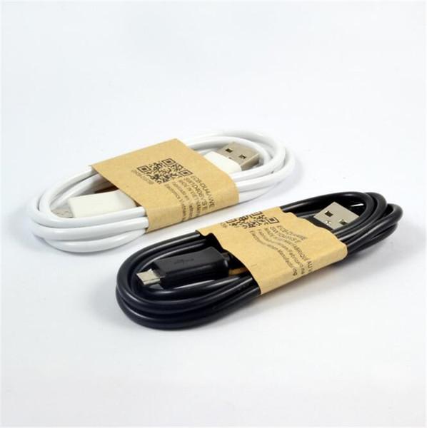3FT Micro 5pin usb кабель синхронизации данных зарядное устройство шнуры для Samsung galaxy s3 s4 s6 завод Оптовая белый черный цвет дешевые DHL бесплатно