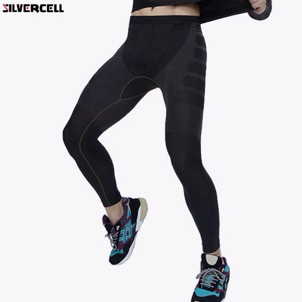 2017 new men fitness compression base layer gear tight pants legging m l xl thumbnail
