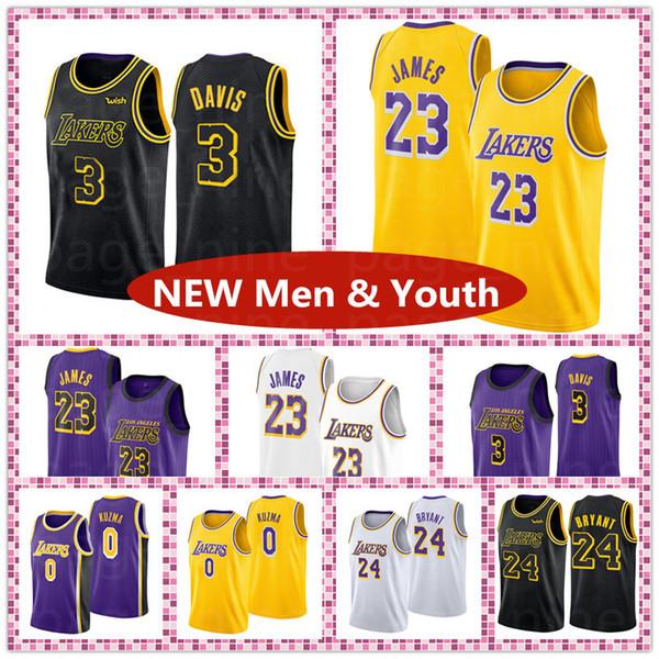NCAA Кентукки Уайлдкэтс Колледж Dwyane James Баскетбольные майки Kobe Men And Youth Энтони Кузьма Леброн Брайант 3 Дэвис Джерси