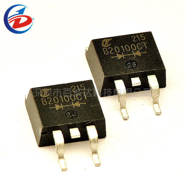 10Pcs/Pack MBRB20100CT 20A 100V TO-263 Schottky Diode